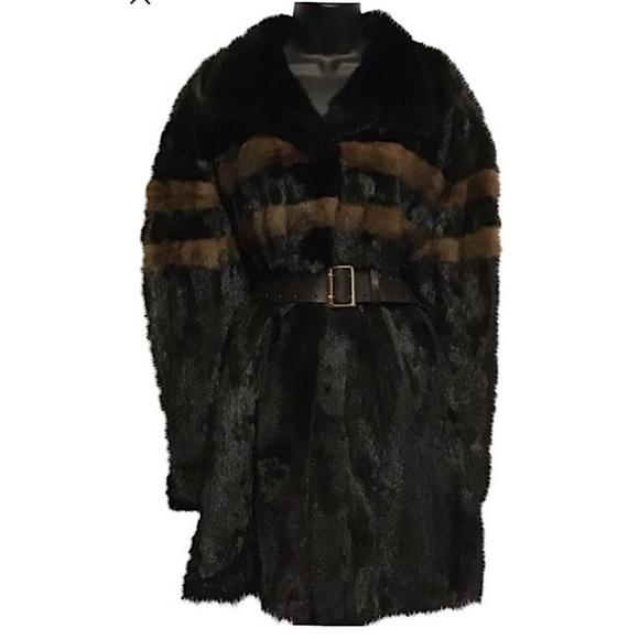 kaufman Furs Jackets & Blazers - Kaufman Furs Ranch Mink 3/4 length